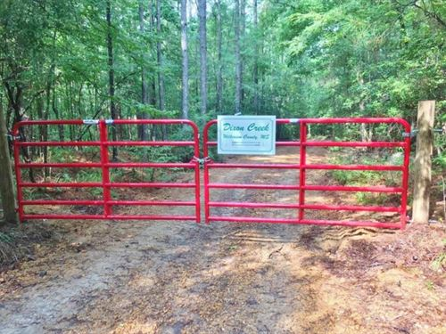 156 Acre Hunting Tract Hardwoods Cr : Gloster : Wilkinson County : Mississippi