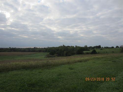 Farm Tillable, Pasture, & Hunting : Unionville : Putnam County : Missouri