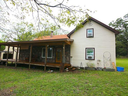 Farm For Sale in Thayer Missouri : Thayer : Oregon County : Missouri