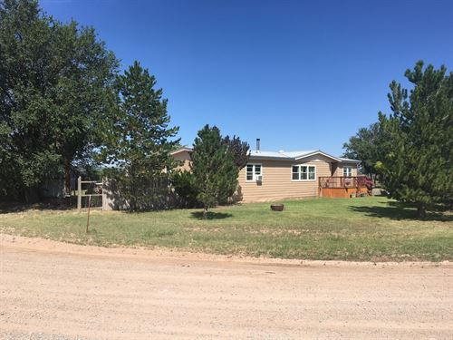 Country Home Acreage in Central NM : Estancia : Torrance County : New Mexico