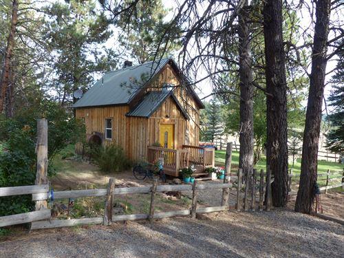 Fuqua Flat Cabin In Malheur Forest : Burns : Harney County : Oregon