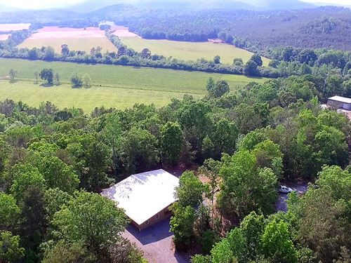 2 Private Homes On 45 Private Acres : Cedartown : Polk County : Georgia