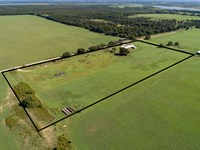 10 Acres With Ranch Home : Comanche : Comanche County : Texas