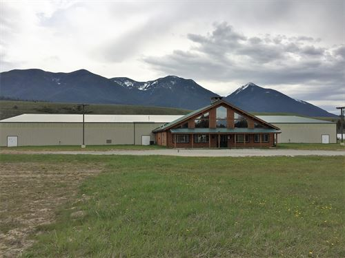 35,0000 Sq, Ft, Horse Arena Complex : Eureka : Lincoln County : Montana