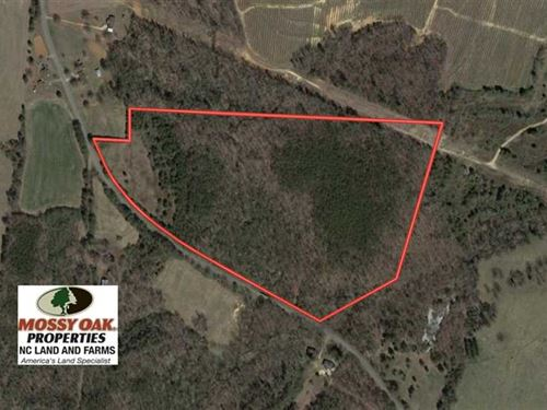 Under Contract, 32.7 Acres of Tim : Lawndale : Cleveland County : North Carolina