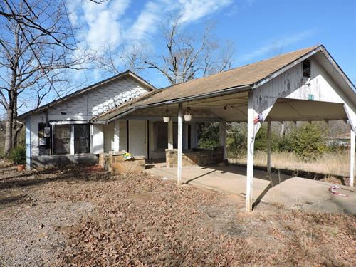 Investment Property A Fixer Upper : Waldron : Scott County : Arkansas