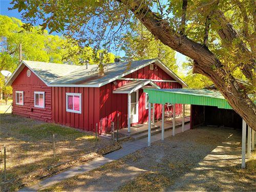 Historic Log Home-145 Tomichi Ave : Poncha Springs : Chaffee County : Colorado