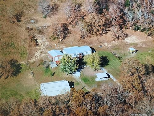 Home Acreage South Central Missouri : Mansfield : Wright County : Missouri