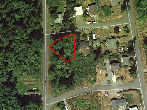 Whidbey Island Lot Close To Beach : Coupeville : Island County : Washington