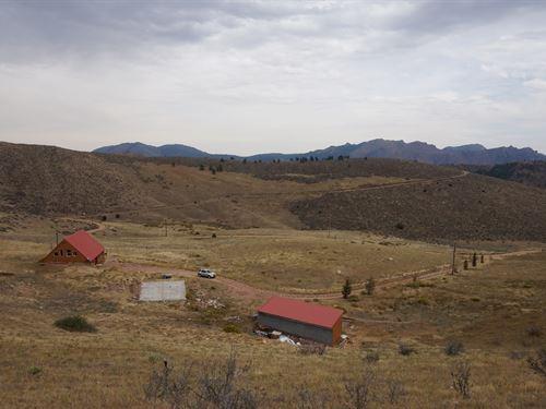 Country Mountain Horse Homes : Livermore : Larimer County : Colorado