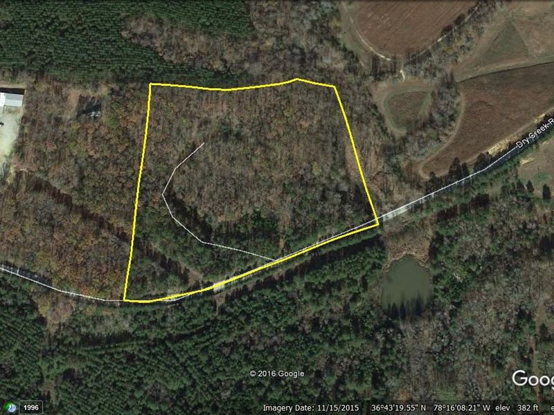 Secluded Country Acreage : Baskerville : Mecklenburg County : Virginia