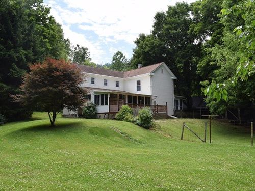 Southern Charm Farmhouse River : Shawsville : Montgomery County : Virginia