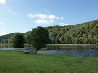 New River Frontage, Residential Lot : Fries : Carroll County : Virginia