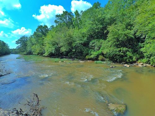 Secluded Riverfront Paradise : Newell : Randolph County : Alabama