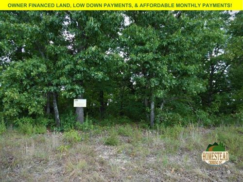 Two Mobile Home Lots Near Lake : Briarcliff : Baxter County : Arkansas