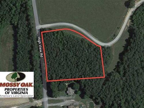 2 Acre Building Lot For Sale in Ha : Halifax : Virginia