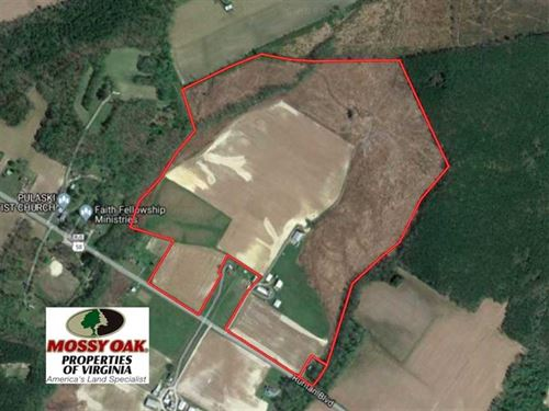 118 Acres of Farm And Timber Land : Holland : Suffolk County : Virginia