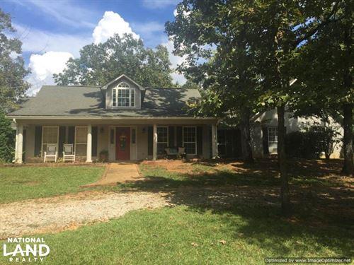 River Hills Home And Land : Kosciusko : Attala County : Mississippi