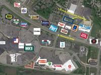 1.28+/- Acre Commercial Outparcel : Lancaster : Fairfield County : Ohio