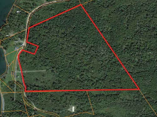 Maine Land For Sale in Lubec : Lubec : Washington County : Maine