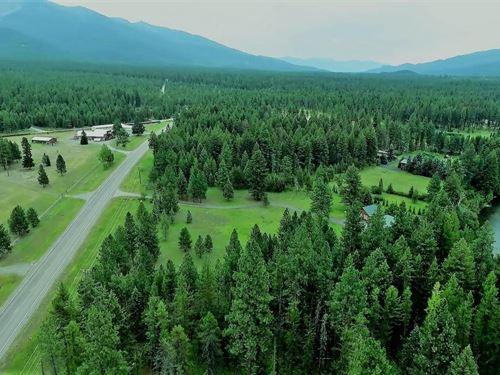 Swan River Frontage : Bigfork : Flathead County : Montana