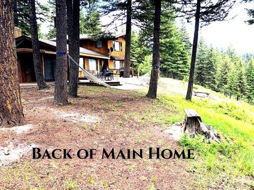 Swanland Home : Condon : Missoula County : Montana