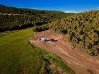 Western Colorado Private Mountain : Cedaredge : Delta County : Colorado