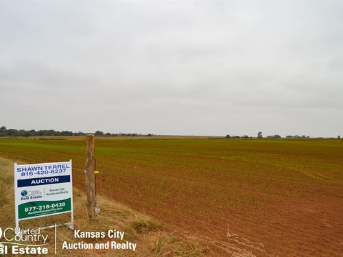 Farm 1 Farm & Mineral Auction : Anthony : Harper County : Kansas