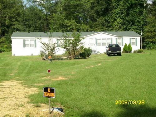 Mobile Home 3 Acres Homochitto : McCall Creek : Franklin County : Mississippi
