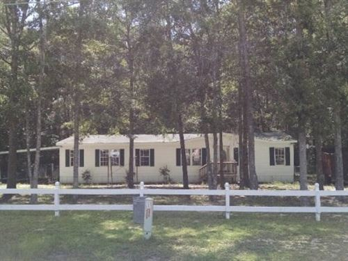 Mobile Home on Shaded Lot : Dothan : Houston County : Alabama
