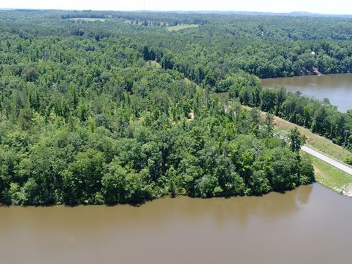 161 Acres On Lake Wedowee : Wedowee : Randolph County : Alabama