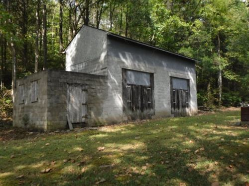 52 Ac, 30X40 Barn, 12X15 Workshop : Burkesville : Cumberland County : Kentucky