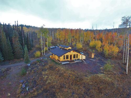 Elk Springs Retreat : Walden : Jackson County : Colorado