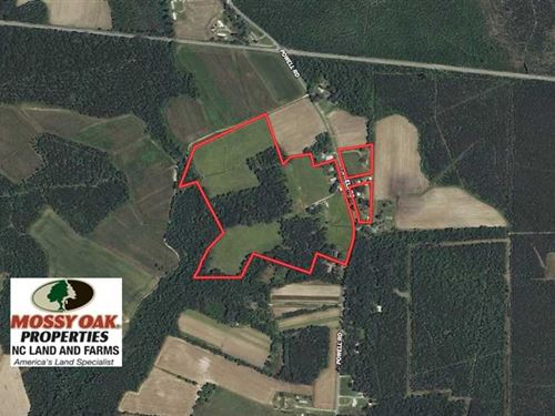 Under Contract, 45.83 Acres of Pa : Rocky Mount : Edgecombe County : North Carolina