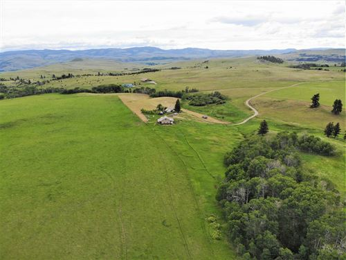 Western Montana Ranch For Sale : Goldcreek : Powell County : Montana