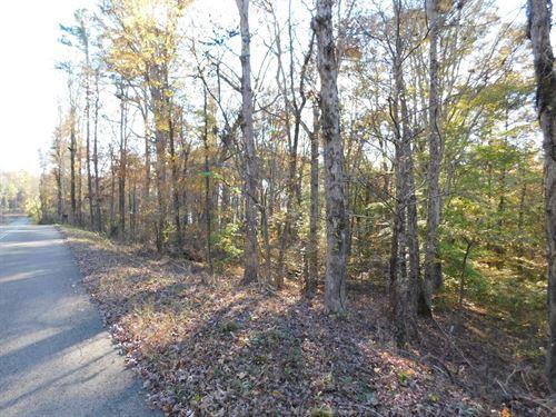 Land Pickwick Lake Bruton Branch : Savannah : Hardin County : Tennessee
