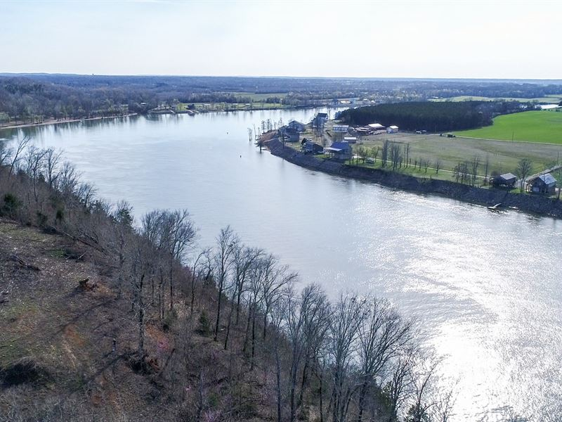 TN River Front Land To Build : Savannah : Hardin County : Tennessee