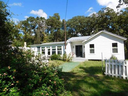 Home Acreage, 3-2/5 Acres, Buffalo : Buffalo : Leon County : Texas