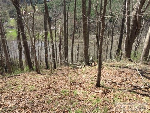 Mountain Building Lot Overlooking : Piney Creek : Alleghany County : North Carolina