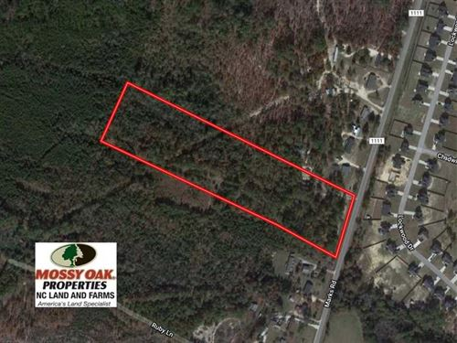 Under Contract, 10.92 Acres of Re : Cameron : Harnett County : North Carolina