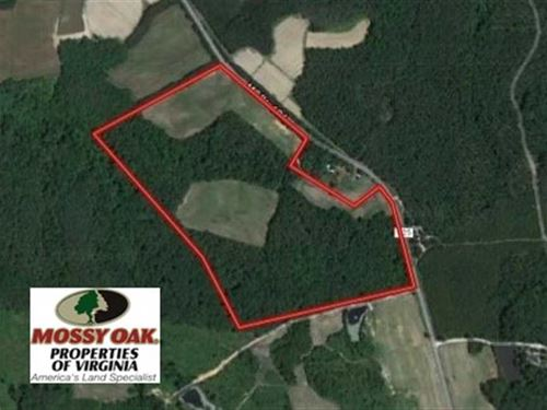 45 Acres of Farm And Timber Land : Saxe : Charlotte County : Virginia