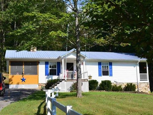 Absolutely Adorable Updated Home : Rogersville : Hawkins County : Tennessee