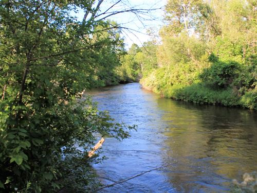 Riverfront Lot Sturgeon River : Wolverine : Cheboygan County : Michigan