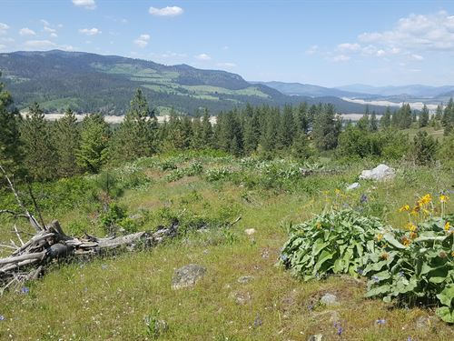 Lake Roosevelt, Acreage, Build to : Fruitland : Stevens County : Washington