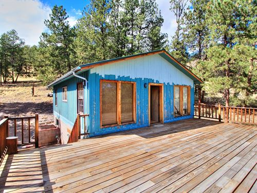 Perfect Mountain Getaway : Guffey : Park County : Colorado