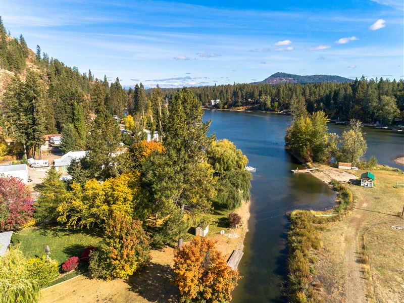 Beautiful One Acre Lot Lower Twin : Hayden : Kootenai County : Idaho