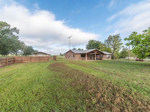 Custom Ranch Home Acreage Grant : Grant : Choctaw County : Oklahoma
