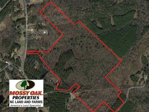 74.8 Acres of Development OR Mini : Sanford : Lee County : North Carolina