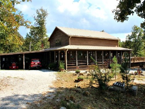 One of a Kind Cabin in The Ozarks : Mountain View : Stone County : Arkansas