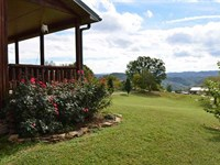 Log Style Home 1.81 Acres : Sneedville : Hancock County : Tennessee